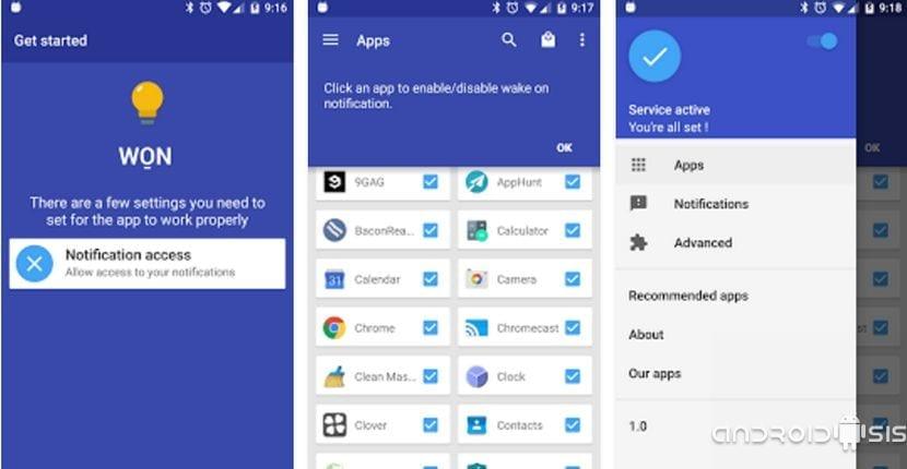 Cómo conseguir que se encienda la pantalla de nuestro Android al recibir notificaciones