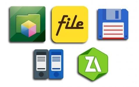 Exploradores de archivos