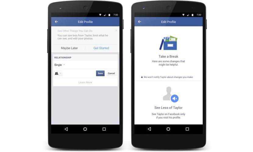 Facebook fin de relación