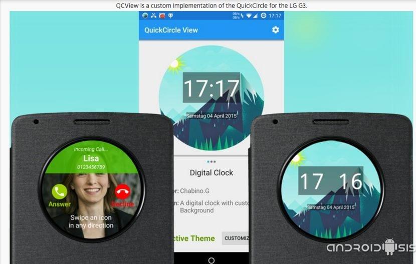 [APK] Cómo habilitar Quick Circle en Roms AOSP para el LG G3.