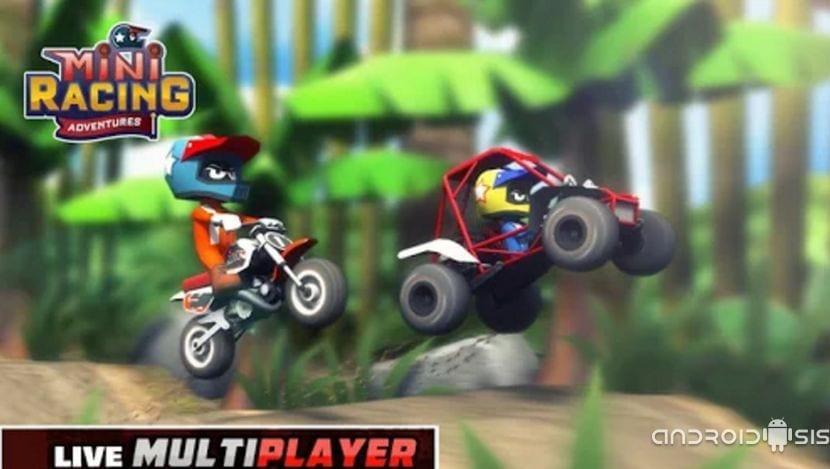 Mini Racing Adventures, un juego de carreras de coches apto para todos los públicos