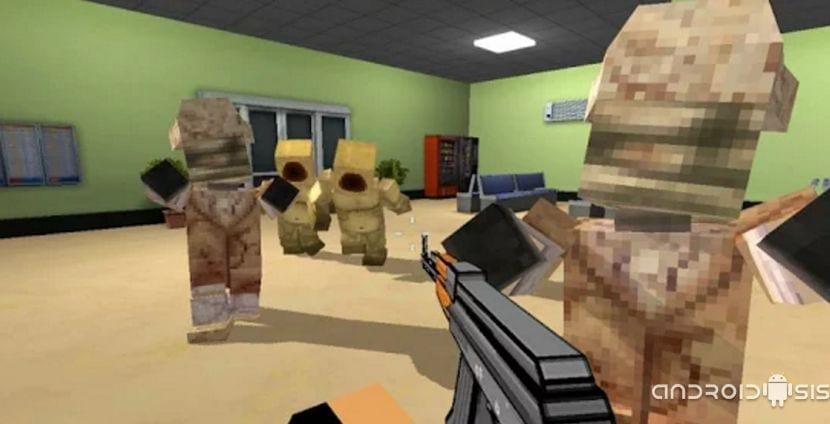 Pixel Dead el juego de matar zombies