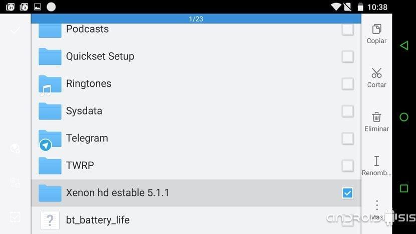 La mejor Rom para el LG G3 es una Rom AOSP que se llama XenonHD