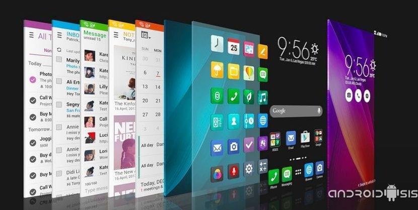 nuevo Launcher del Asus Zenfone 2