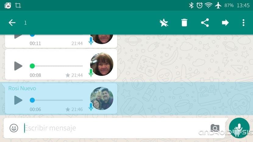 [APK] Te enseñamos como funcionan los mensajes destacados de WhatsApp