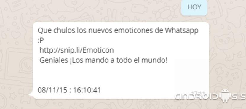 Qué chulos los nuevos emoticonos de WhatsApp