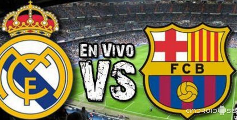 El Real Madrid - FC Barcelona gratis sin descargar nada de nada