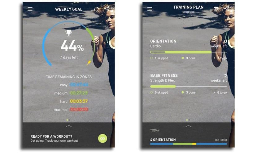 Adidas train&run