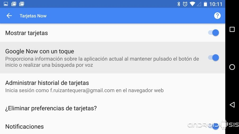 Qué es y cómo habilitar Google Now on Tap en Android 6.0 Marshmallow