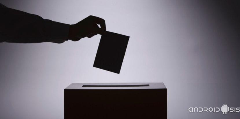 Urna misteriosa Elecciones 2015