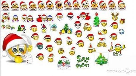 Descargar emoticonos navideños
