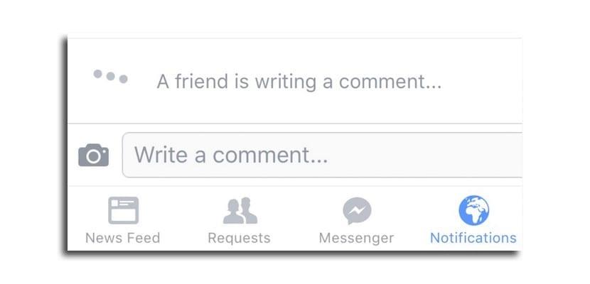 Facebook comentarios tiempo real
