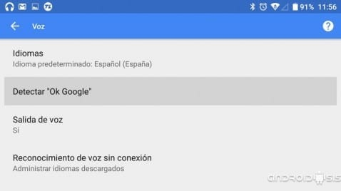 Cómo habilitar la funcionalidad de OK Google desde cualquier pantalla y desde cualquier Launcher