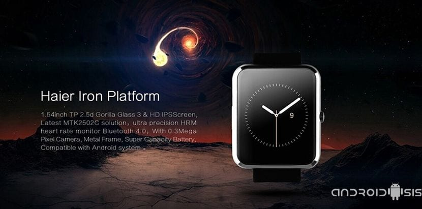 Haier Iron Bluetooth, todo un Smartwatch bluetooth por poco más de 40 euros