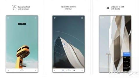 la mejor aplicación de retoque fotográfico para Android es gratis