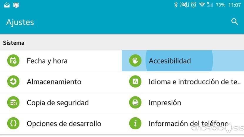 Cómo optimizar Android para personas con problemas de visión