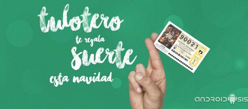 Androidsis y Tu Lotero te regalan una participación de 1 euro para el sorteo del gordo de la navidad