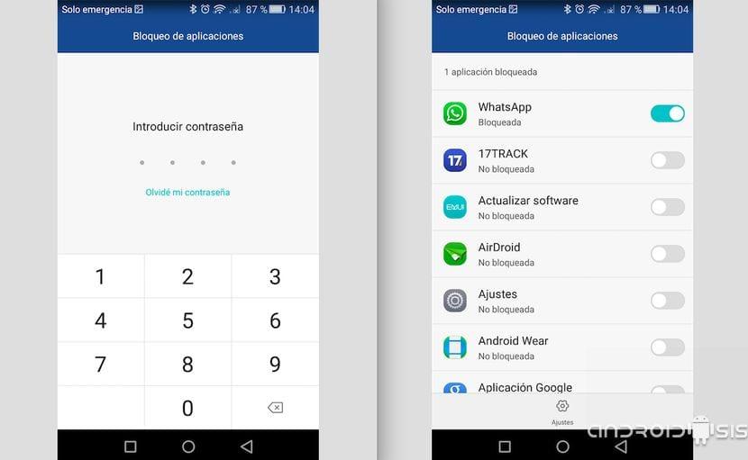 Bloquear Whatsapp por contraseña en Huawei