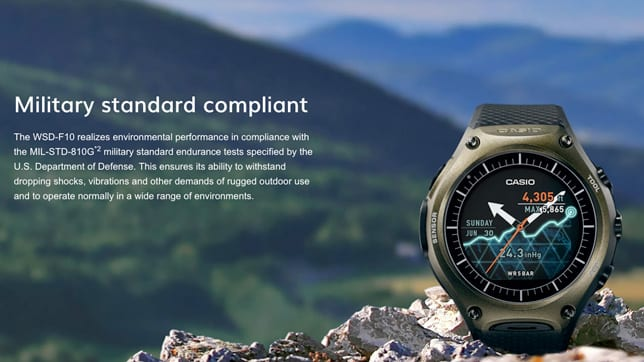 casio android wear