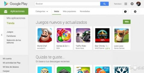 Apps en Google Play