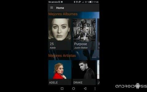aplicación del momento para descargar música gratis
