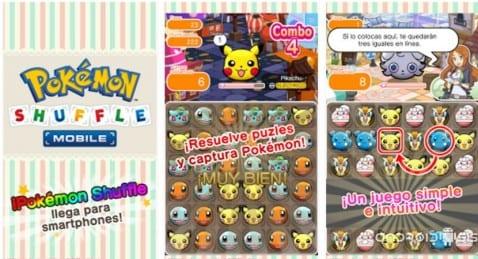 descargar Pokémon Shuffle para Android gratis y en Español