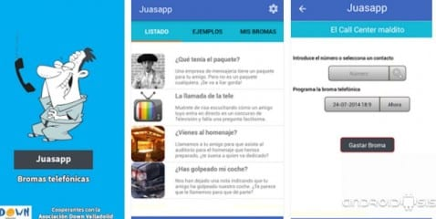 Juasapp Bromas telefónicas, la aplicación de la que todo el mundo está hablando