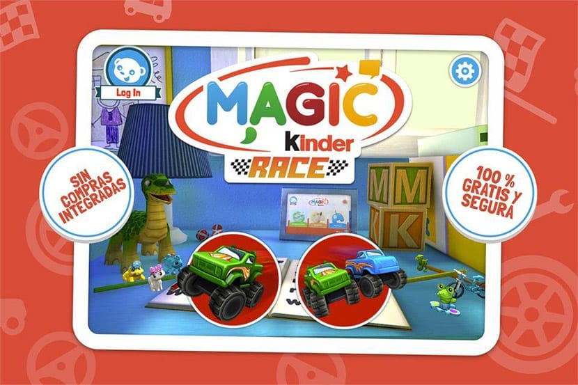 Race Juega En Familia Kinder Con Magic UzSpMV