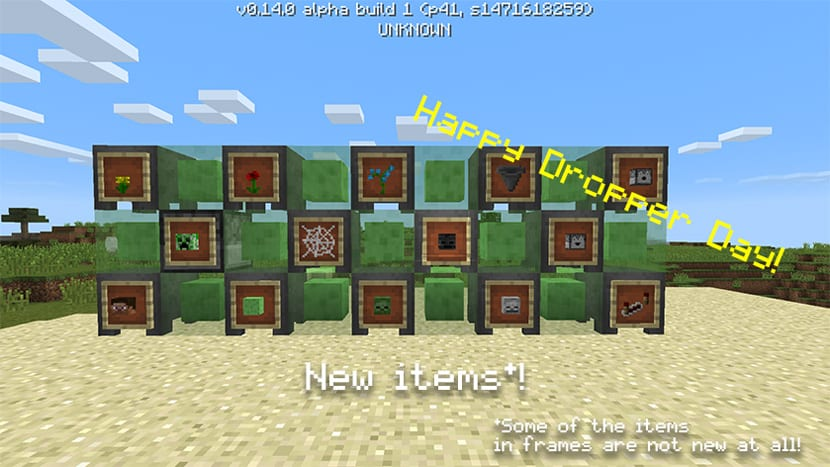 Minecraft Pocket Edition beta