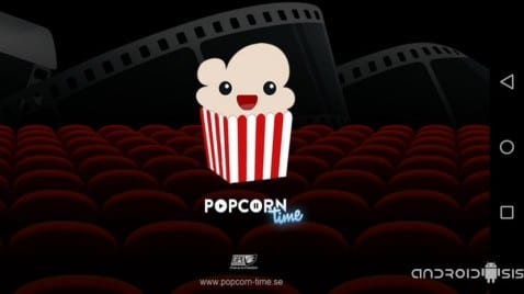 Popcorn time Logo HD