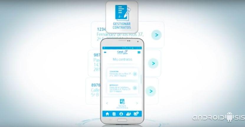 Canal Gestión clientes, la app de los clientes de Canal Isabel II