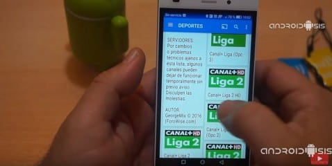 La aplicación definitiva para ver todo el fútbol gratis desde tu Android. (Compatible con Chromecast y envío de pantalla)