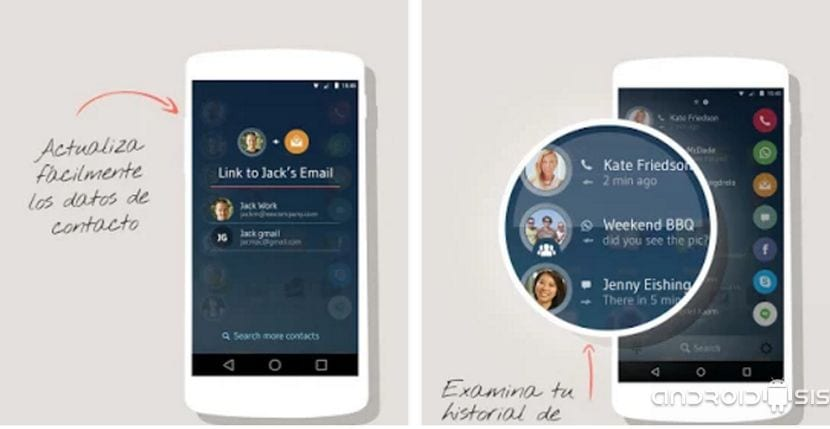Drupe, contactos y marcador, la mejor aplicación para gestionar todos tus contactos Android