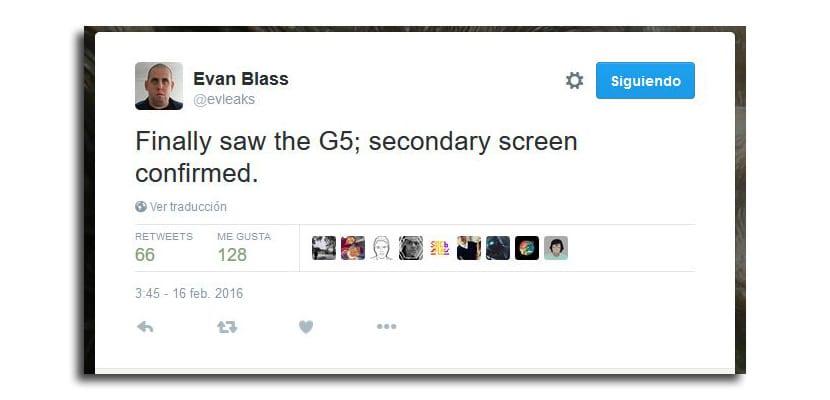 LG G5 twitter
