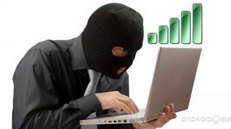 Ladrón de Wifi