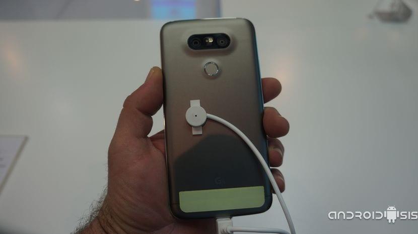 Trasera del LG G5