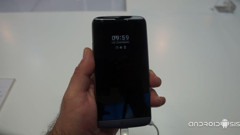 LG G5 pantalla en reposo