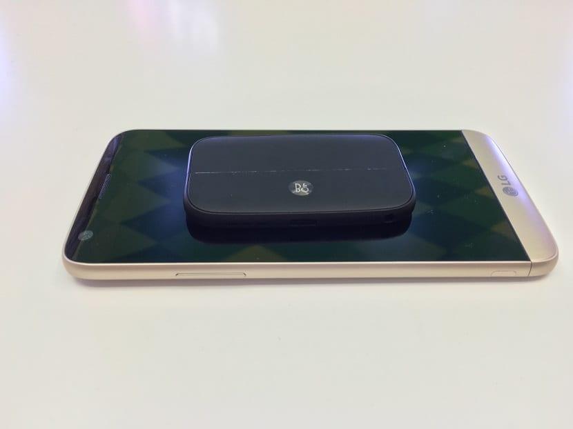LG G5 módulo audio