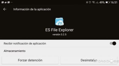 [APK] Descarga la versión 3.2.5 de ES Explorador de archivos