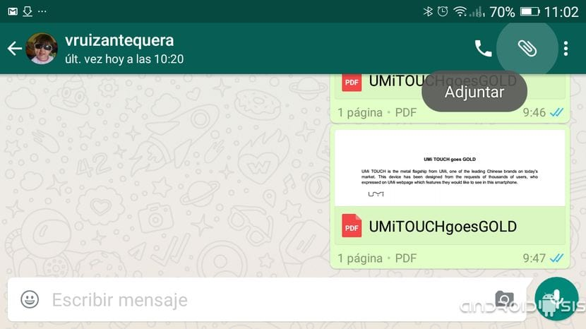 Documentos WhatsApp