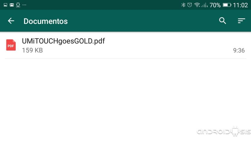 Documentos WhatsApp