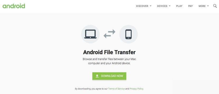 Cómo conectar Android con MAC