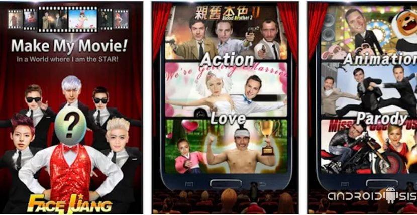 Crear tus propios vídeomontajes divertidos desde Android es tan fácil como descargar Facejjang