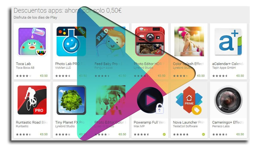 Google Play rebajas