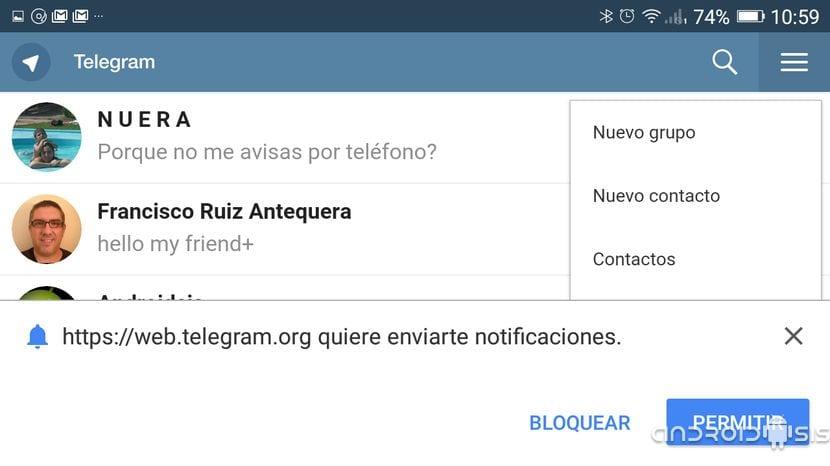 TRUCO] Cómo instalar Telegram en tu Android sin instalar ninguna aplicación
