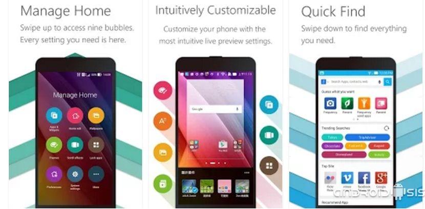 Descarga la interfaz y aplicaciones propias del Asus Zenfone para cualquier Android