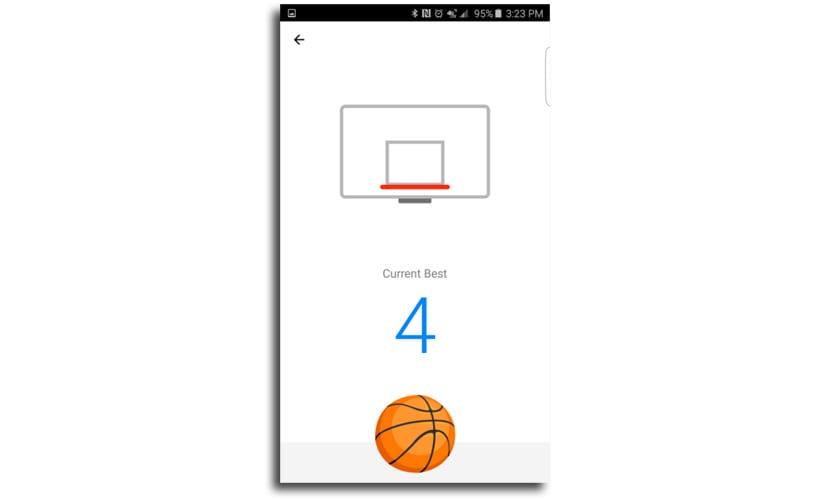 Juego baloncesto Facebook Messenger