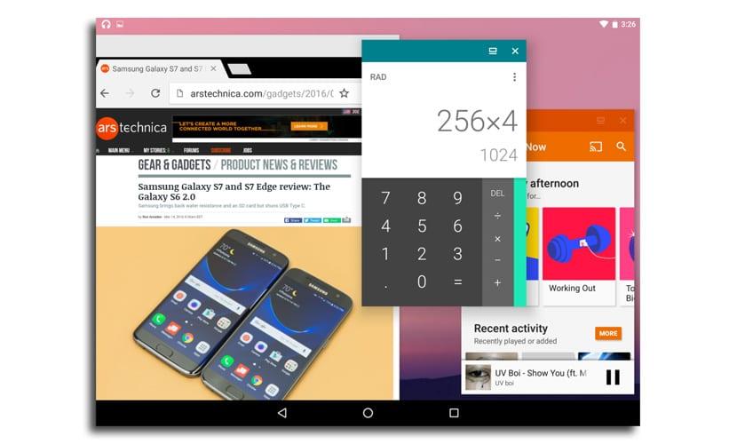 Modo ventana libre Android N