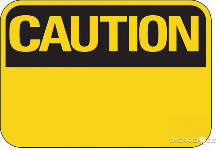 Caution señal HD