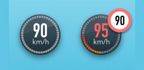 Waze alerta de velocidad